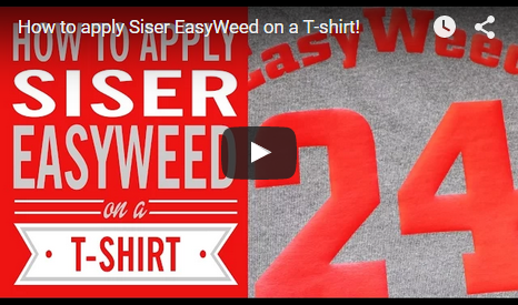 How to apply Siser Easyweed