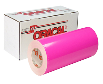 "Oracal Vinyl - 24"" 6510 Fluorescent Cast"