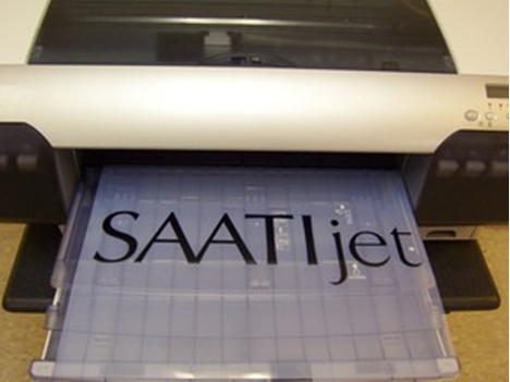 SAATIjet polyester Ink Jet film 8.5x14