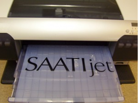 SAATIjet polyester Ink Jet film 11x17