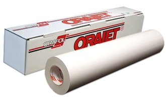 """ORAJET 3641 Soft Calendered 30""""x50yd Matte White"""