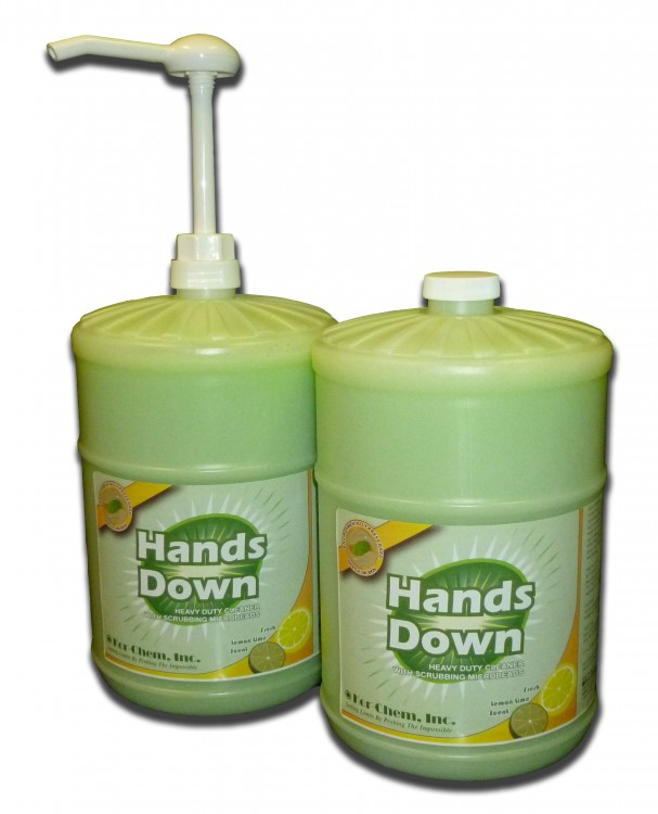 Hands Down gallons w pump