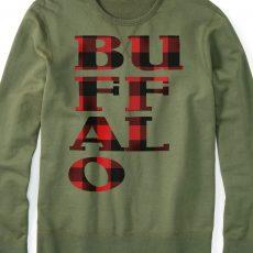 Buffalo Plaid Red on shirt